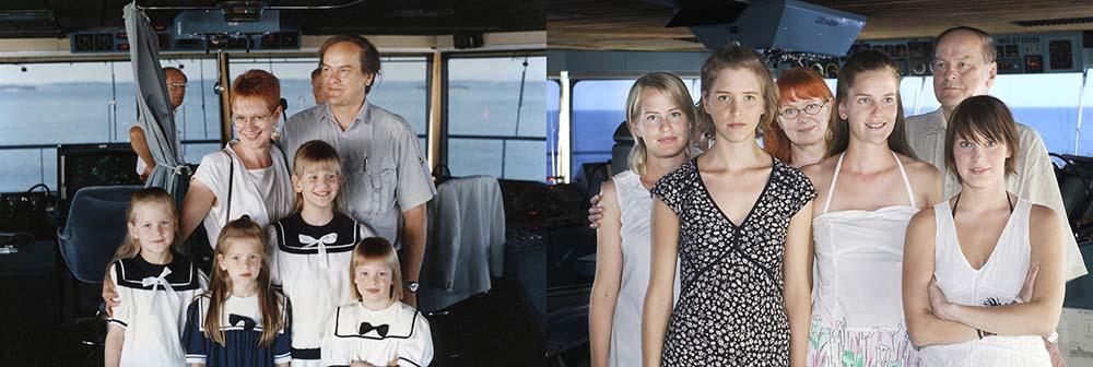 4sisters 23 Римейк старых фотографий из семейного альбома