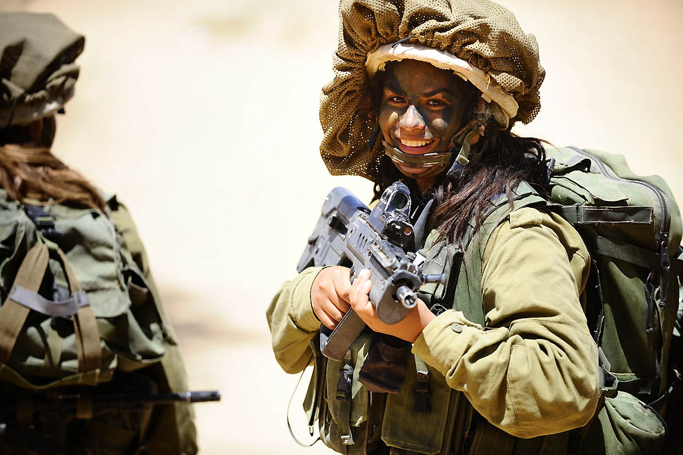 515 Прекрасная половина израильской армии