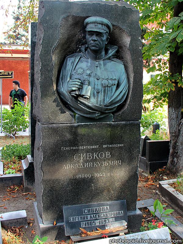 5412 Новодевичье кладбище   Покой великих