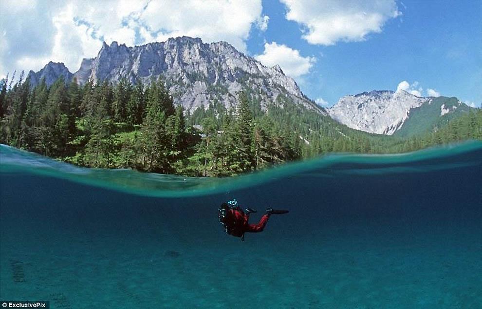 545 Подводный парк «Зеленое озеро»
