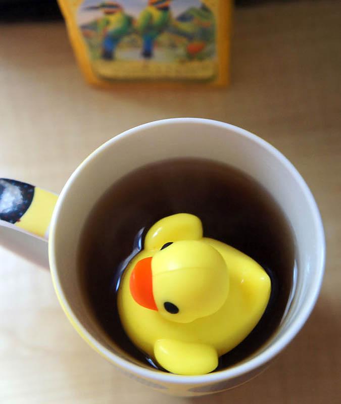 546 Оригинальные заварники для чая в чашке