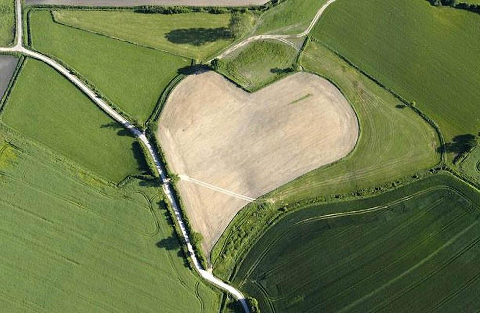 6 10 самых красивых природных сердец на Земле