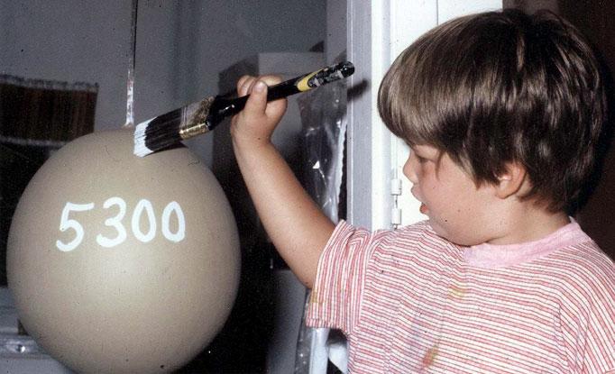 650 Самый большой бейсбольный мяч в мире создан...благодаря краске!