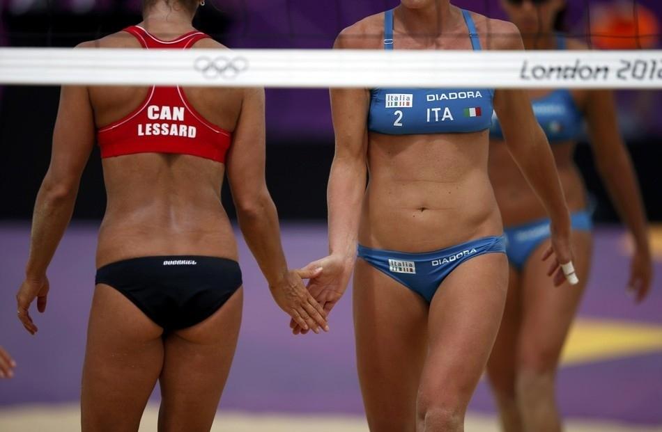 734 Ох уж этот пляжный волейбол