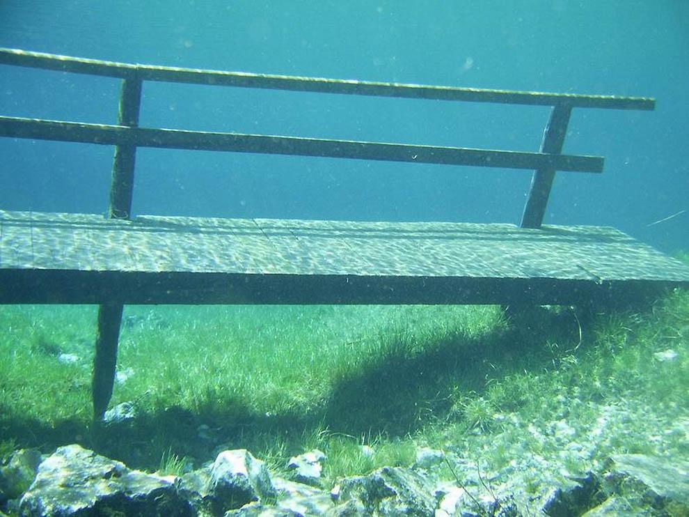 742 подводный парк зеленое озеро