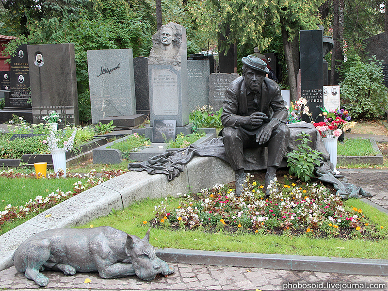 787 Новодевичье кладбище   Покой великих