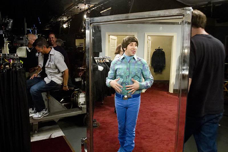 889 На съемочной площадке The Big Bang Theory