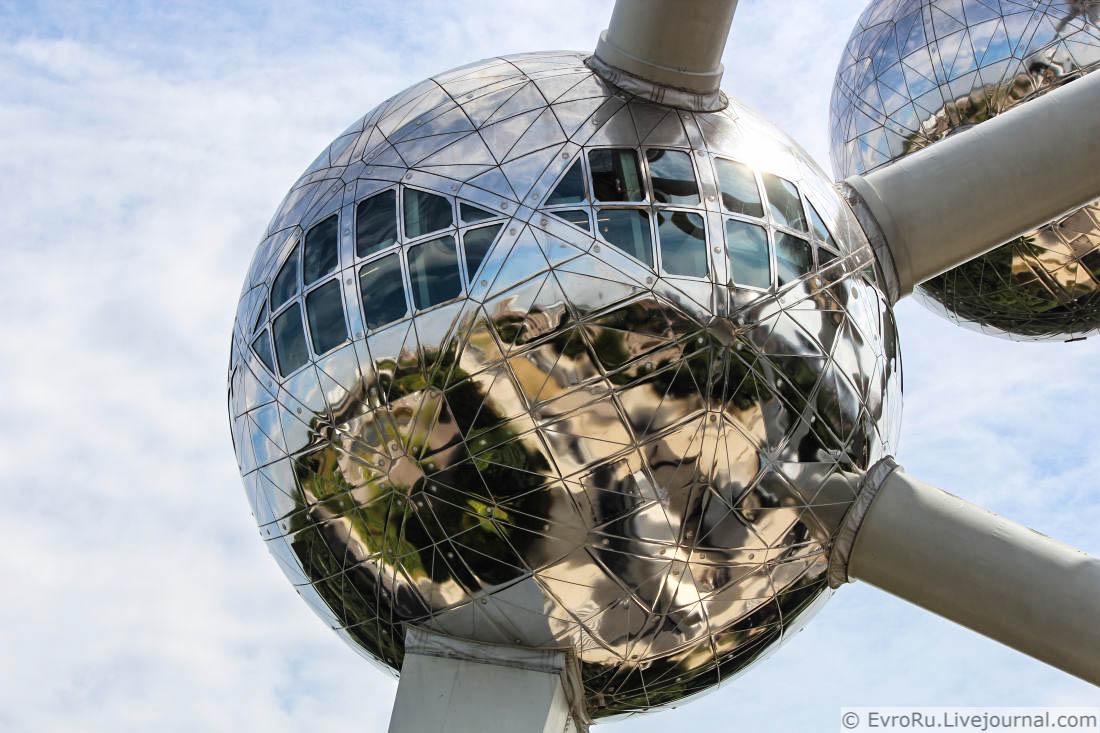 897 Атомиум в фотографиях