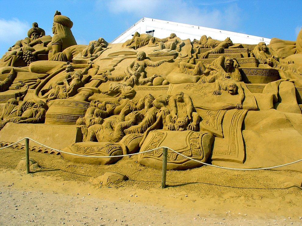 923 20 восхитительных песчаных скульптур