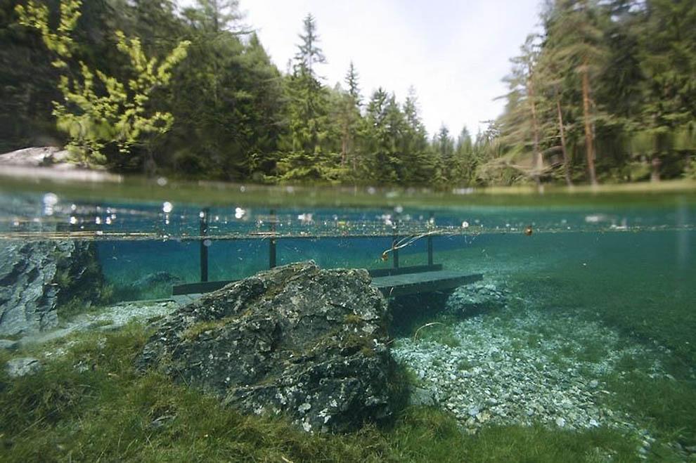 940 Подводный парк «Зеленое озеро»