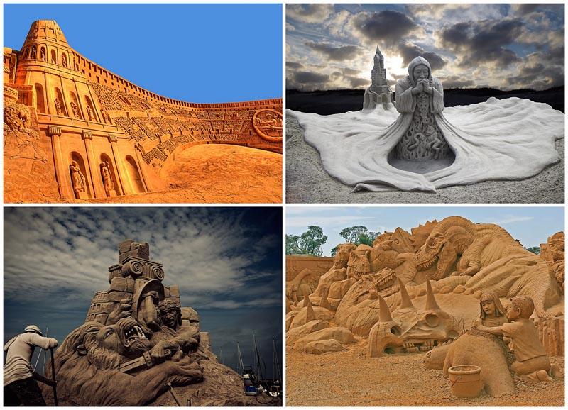 BIGPIC12 20 восхитительных песчаных скульптур