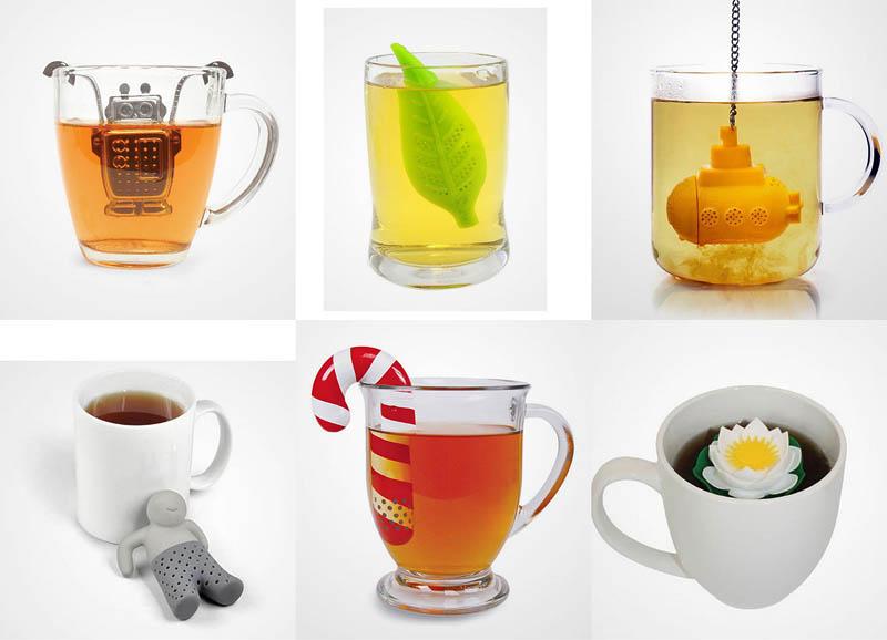 BIGPIC14 Оригинальные заварники для чая в чашке