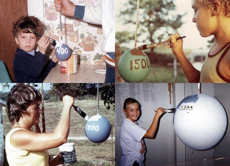 BIGPIC16 Самый большой бейсбольный мяч в мире создан...благодаря краске!