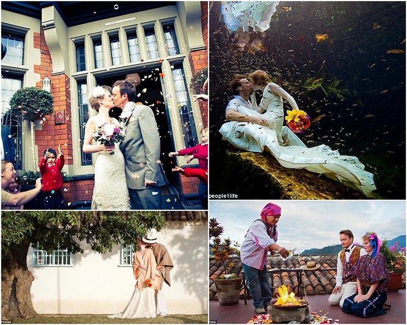 BIGPIC17 Счастливая пара отпраздновала 22 свадьбы
