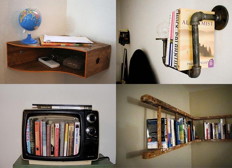 BIGPIC7 25 идей, как сделать книжную полку