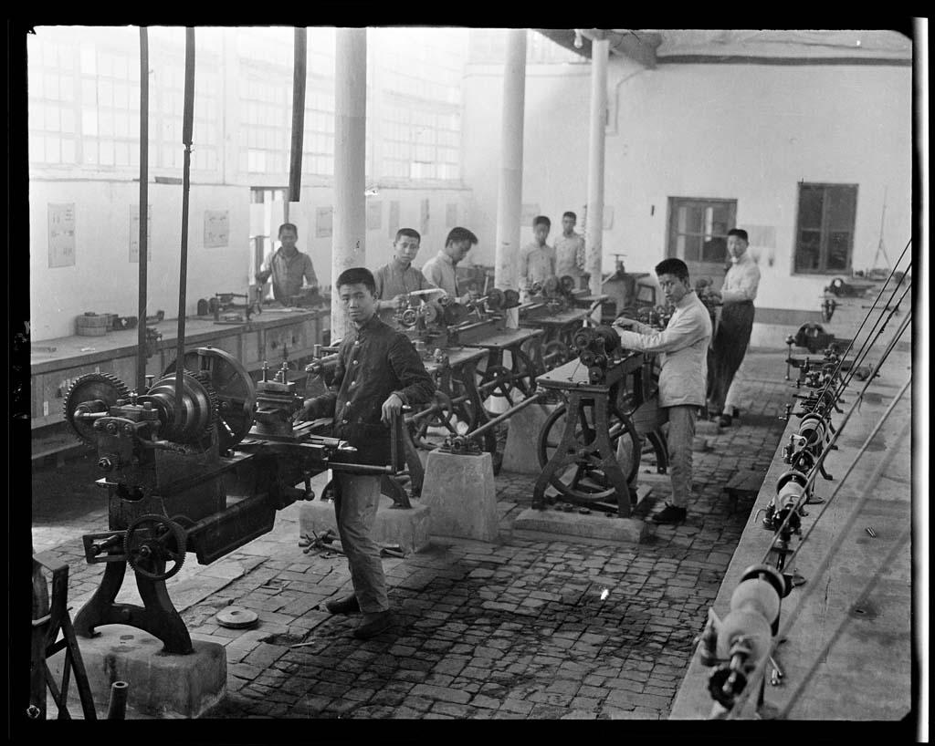 China 48 Черно белый Китай начала прошлого века