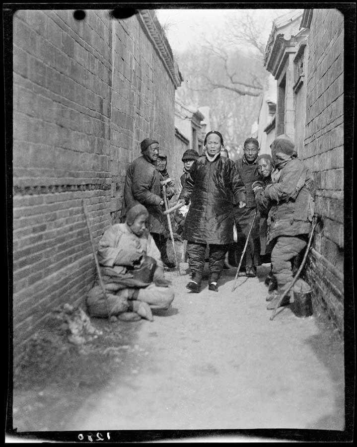 Черно-белый Китай начала 20 века