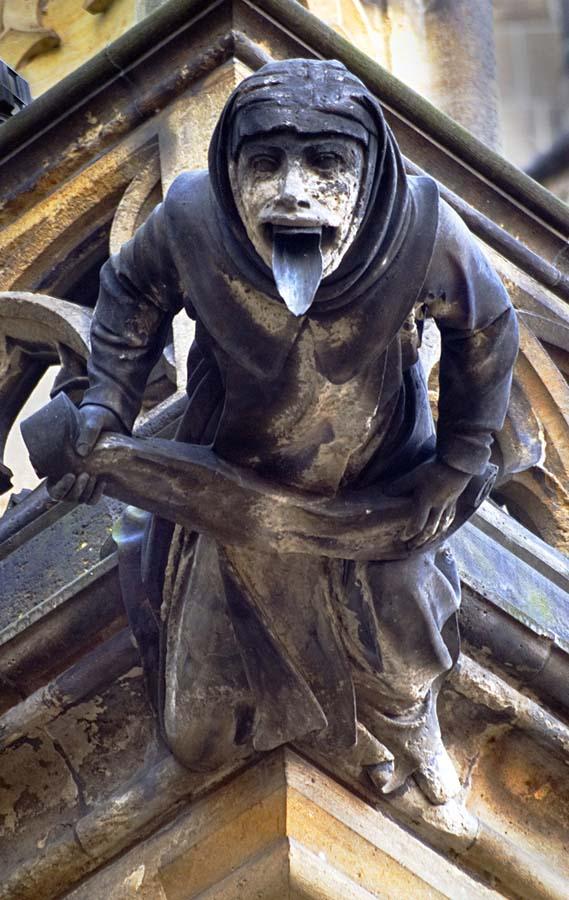 Gargoyles 21 Гаргульи в фотографиях