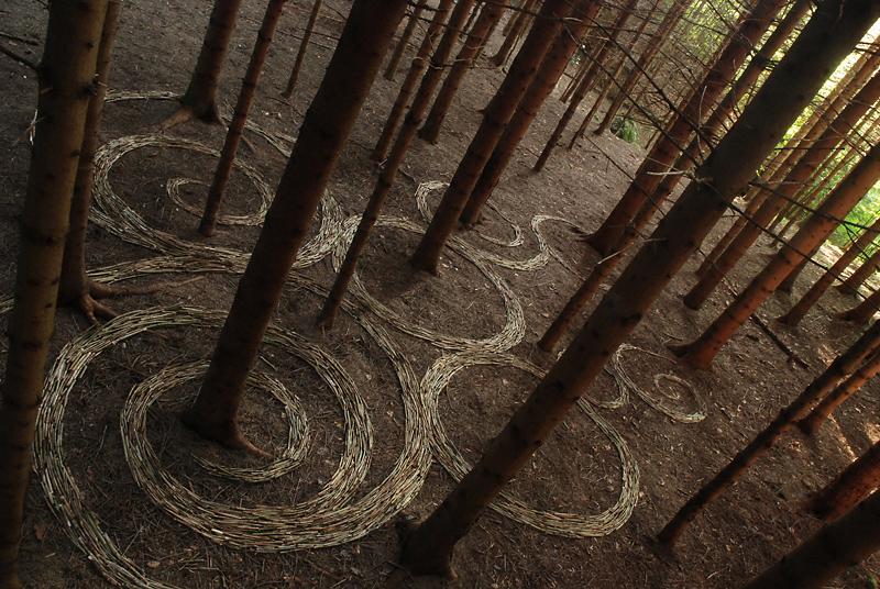 Land Art 9 Художества Сильвэйн Мейера