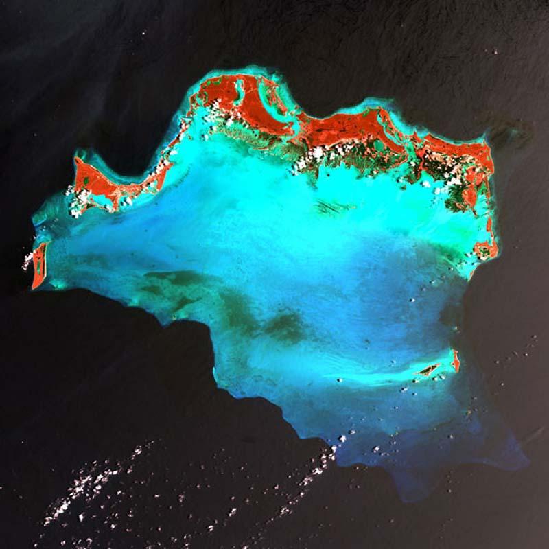 Landsatprogramme 16 Фото со спутника   Земля как произведение искусства