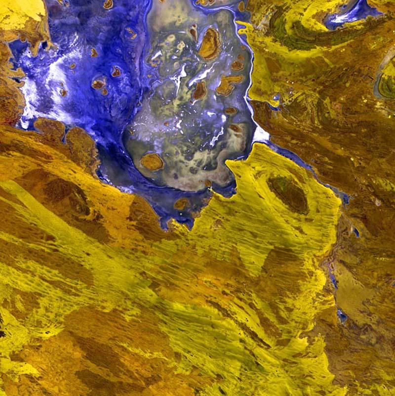 Landsatprogramme 18 Фото со спутника   Земля как произведение искусства