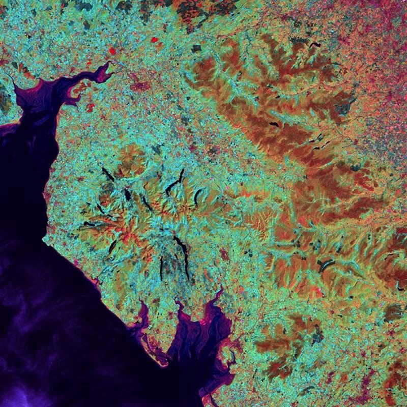 Landsatprogramme 19 Фото со спутника   Земля как произведение искусства