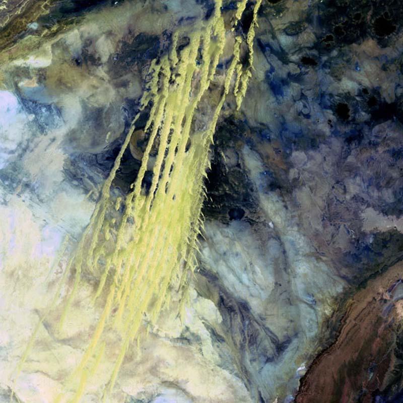 Landsatprogramme 3 Фото со спутника   Земля как произведение искусства