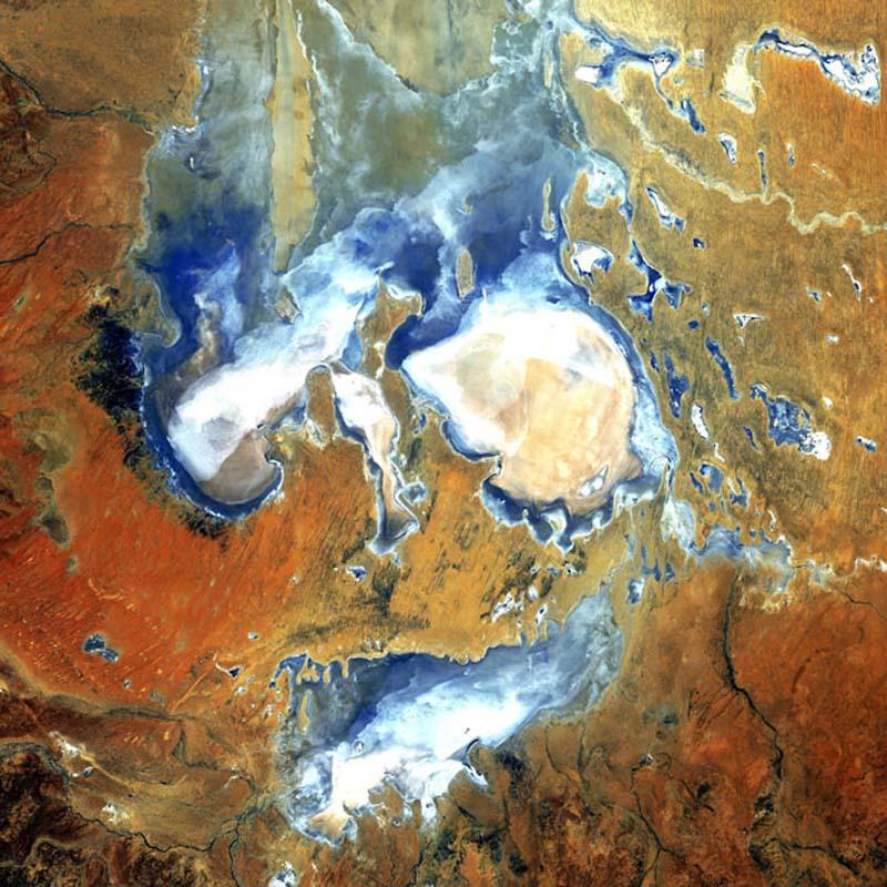 Landsatprogramme 4 Фото со спутника   Земля как произведение искусства