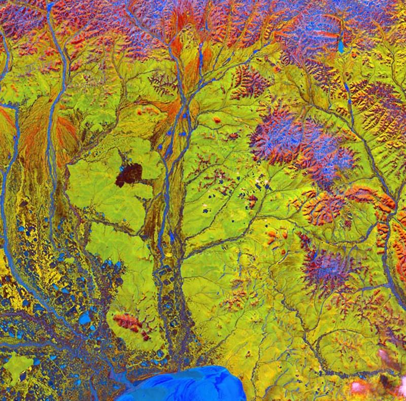 Landsatprogramme 5 Фото со спутника   Земля как произведение искусства