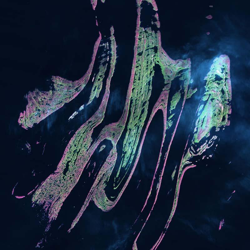 Landsatprogramme 9 Фото со спутника   Земля как произведение искусства