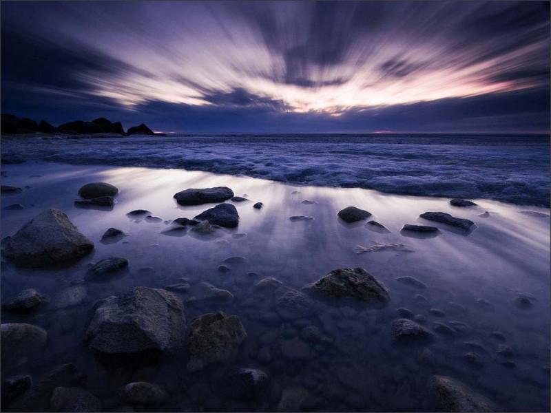 Безмятежные пейзажи Скотта Крокера