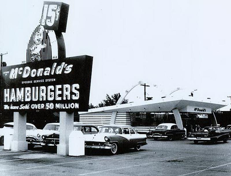 (9) ماكدونالدز ماكدونالدز الأول