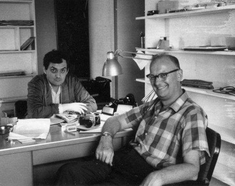 Stanley Kubrick26bb Мастер за работой: Стэнли Кубрик. Часть 1 (1950 1960 гг.)