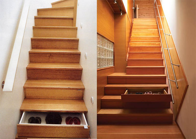 Лестница-чулан своими руками