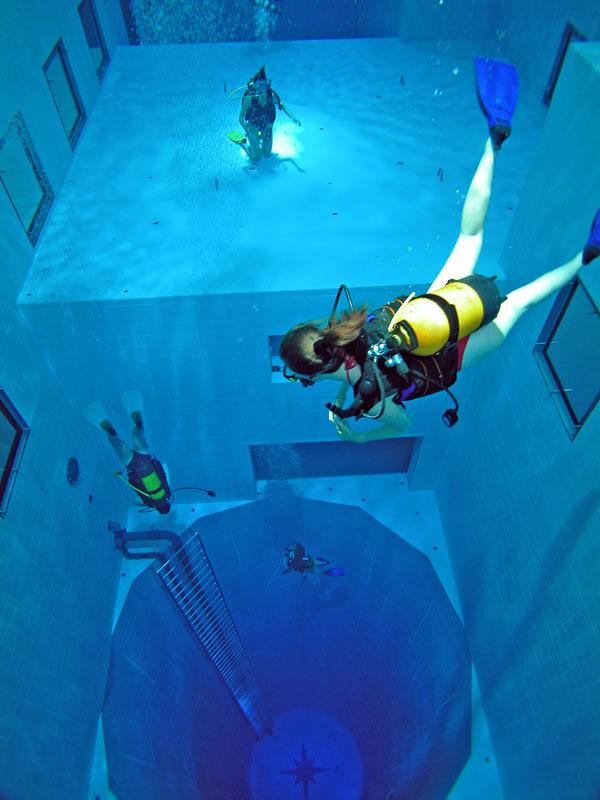 deepest 3 7 фактов о самом глубоком бассейне в мире