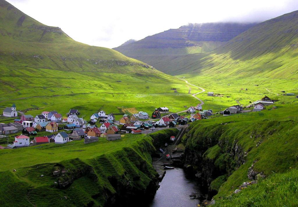 fairy 0 Сказочные деревни Фарерских островов