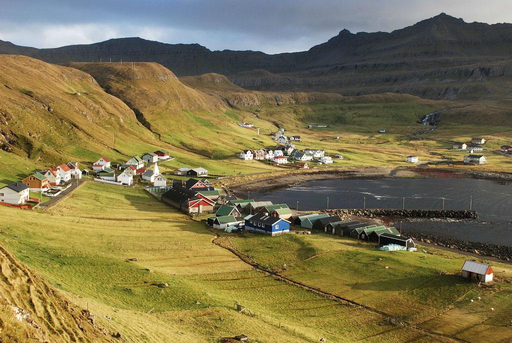 fairy 14 Сказочные деревни Фарерских островов