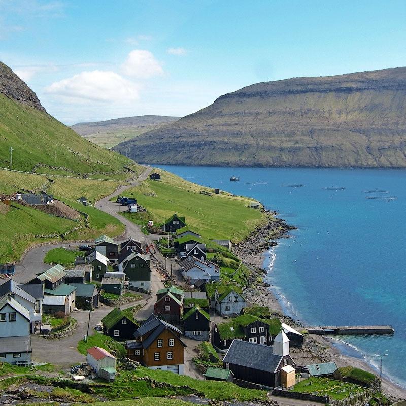 fairy 3 Сказочные деревни Фарерских островов