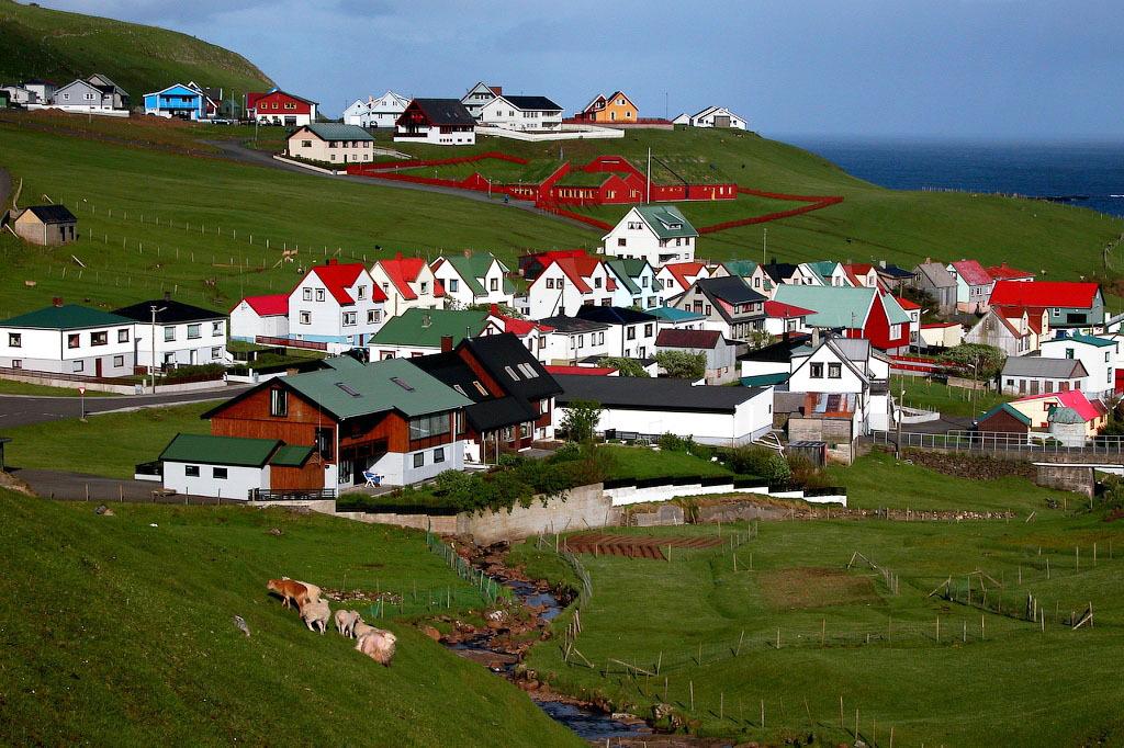 fairy 4 Сказочные деревни Фарерских островов