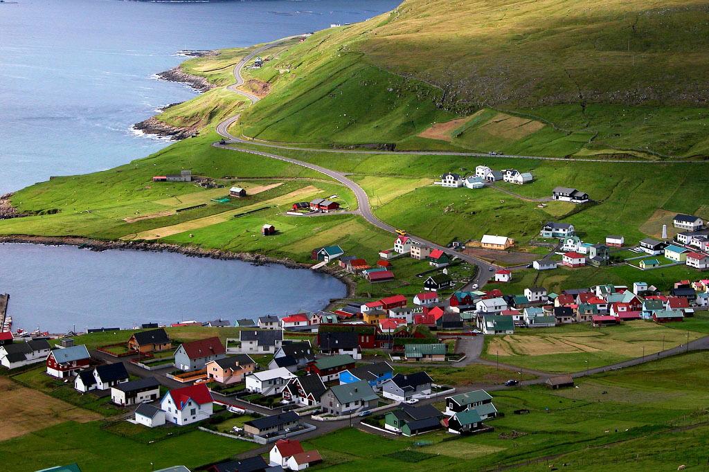 fairy 5 Сказочные деревни Фарерских островов