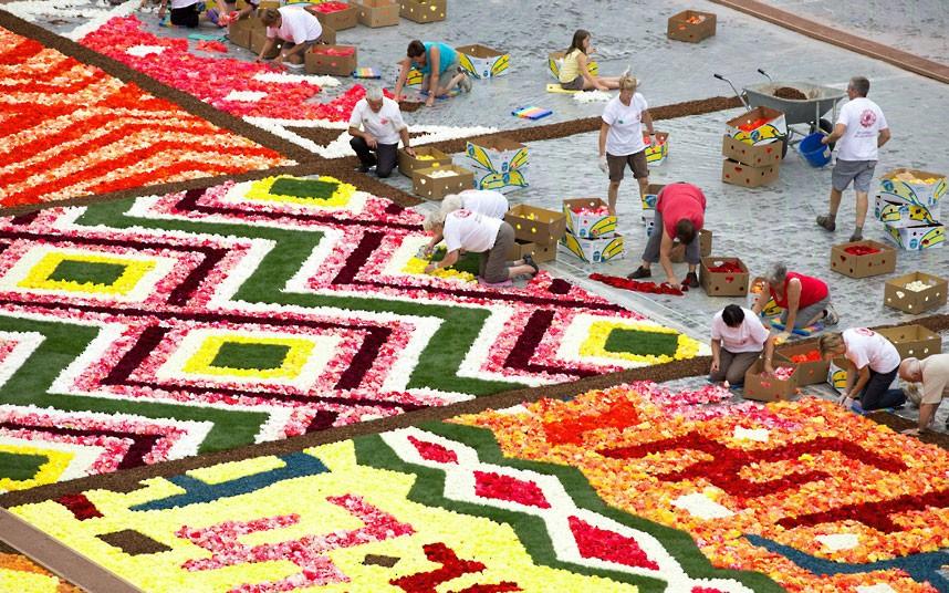 floralcarpet 9 Цветочный ковер в Брюсселе