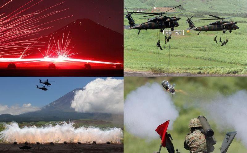 japanarmy Ежегодные учения вооружённых сил Японии