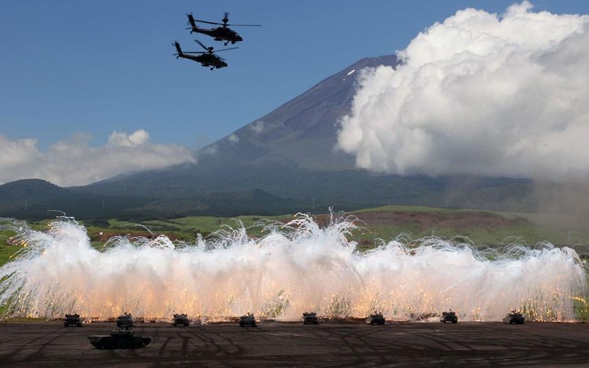 japanarmy01 Ежегодные учения вооружённых сил Японии