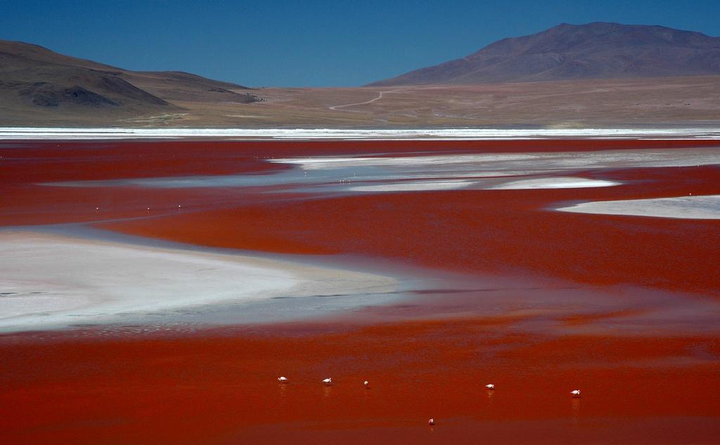 lake01 5 озер с водой удивительных оттенков