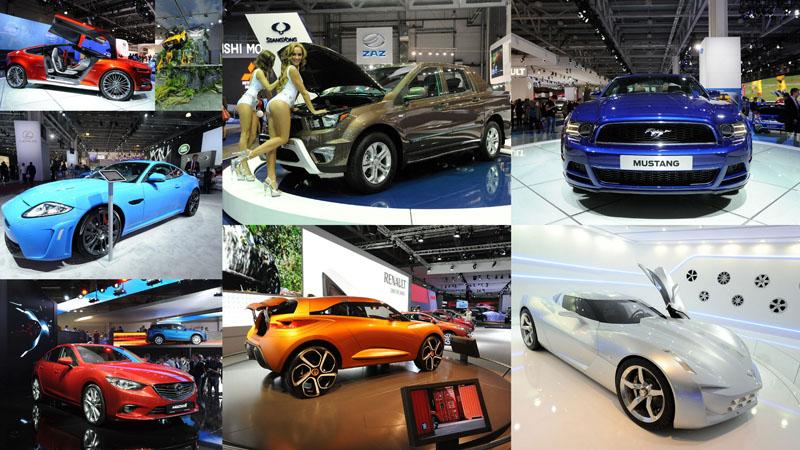 select9 Московский международный автосалон 2012
