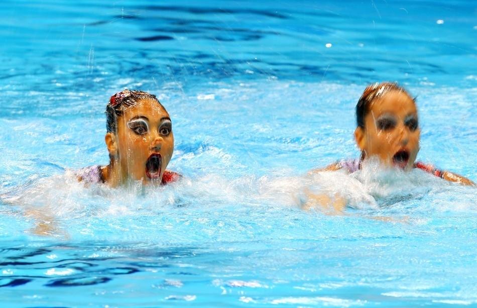 synchrone 28 Лица синхронного плавания