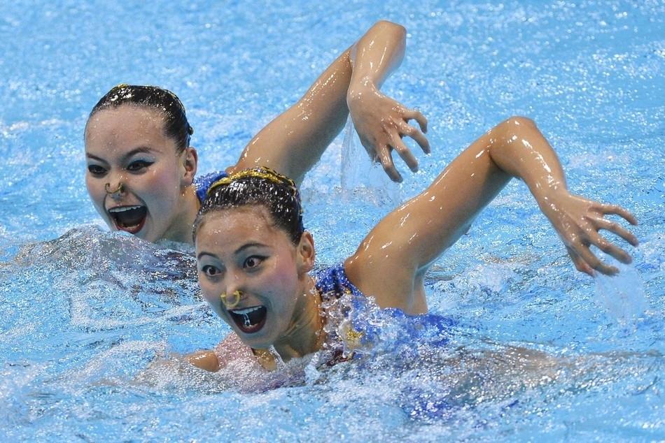 synchrone 32 Лица синхронного плавания