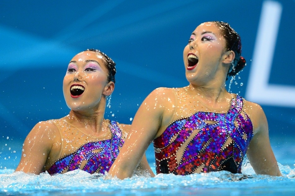 synchrone 35 Лица синхронного плавания