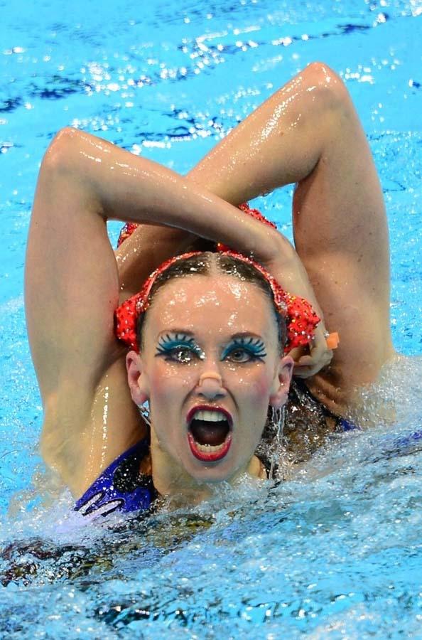synchrone 42 Лица синхронного плавания
