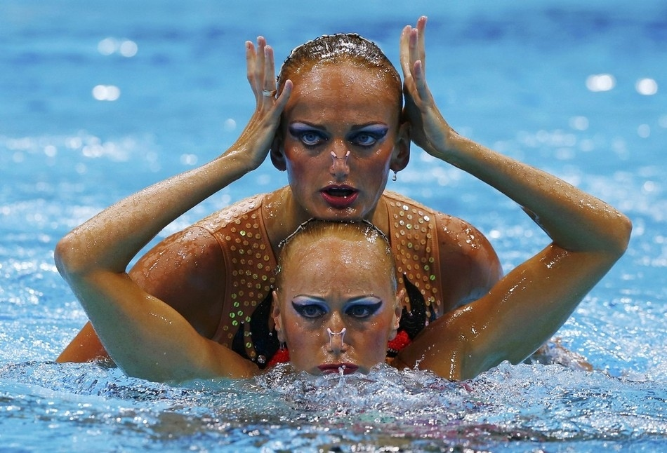 synchrone 8 Лица синхронного плавания